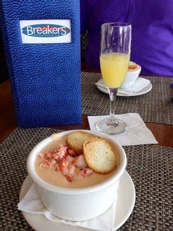Breakers Restaurant & Bar: Lobster Bisque