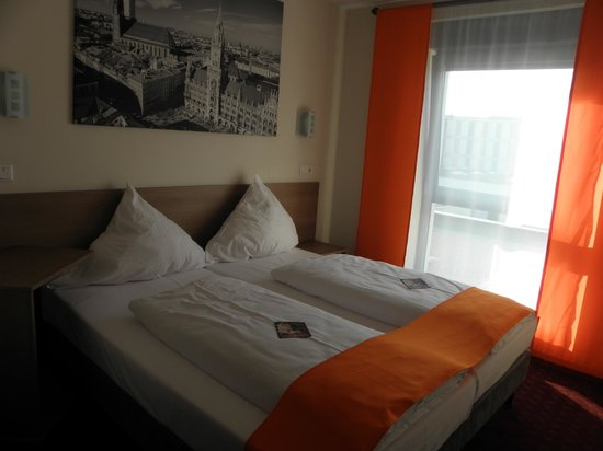McDreams Hotel München-Messe: Comfy beds