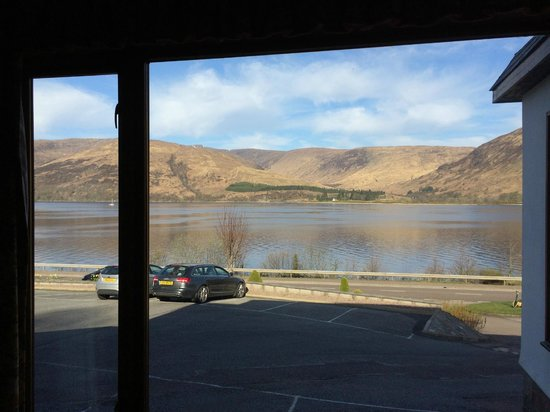Clan Macduff Hotel: View from restaurant