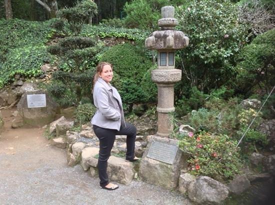 Recanto Japones : jardim japones - luminaria