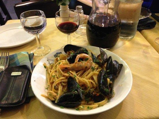 Ristorante Monte Arci : Spaghetti with seafood
