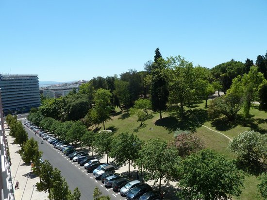 Hotel Miraparque: view from room 508