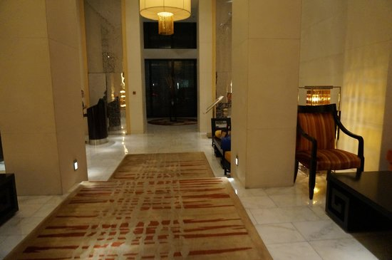 The Ritz-Carlton Beijing, Financial Street: Lobby when you enter the hotel