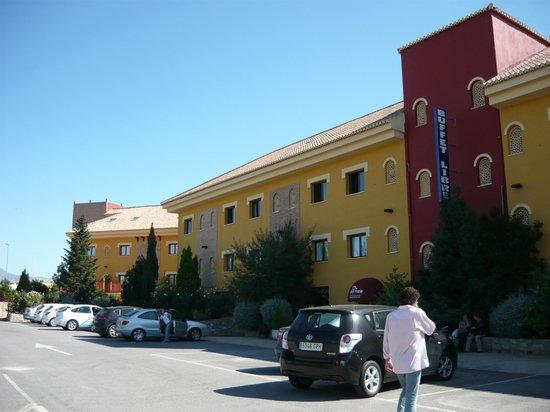 Hotel Torreón: andando a la recepcion
