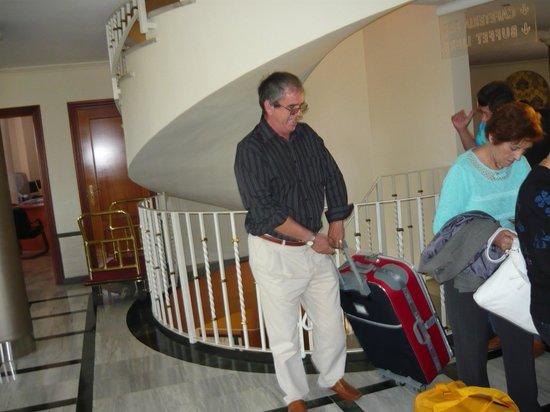 Hotel Torreón: subimos la habitacion