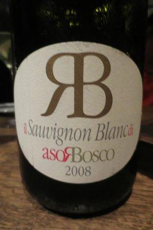 Shane's Restaurant: Sauvignon Blancs