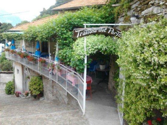 Nesso, Italie : Trattoria del Porto