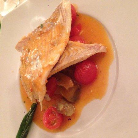 Da Marino al Saint Remy: Rombo - pescato del giorno