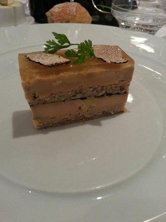 Le Vauban : Foie gras aux truffes blanches