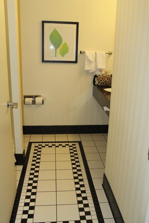 Fairfield Inn & Suites Madison East: the bathroom
