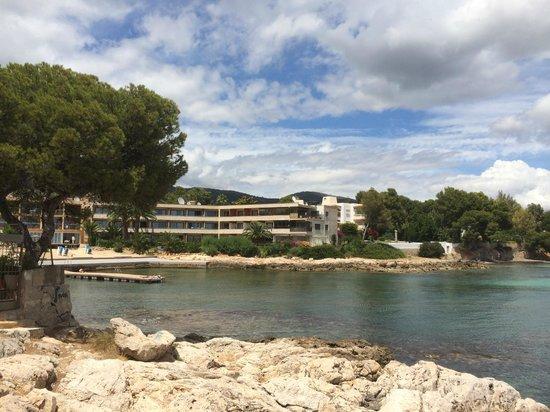 Hotel Son Caliu Spa Oasis: Lägenhetshotellet och badviken