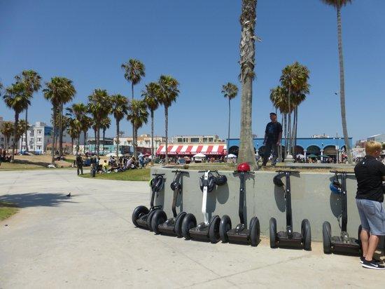 "Segway Los Angeles: SEGWAY ""break"" at Venice Beach"