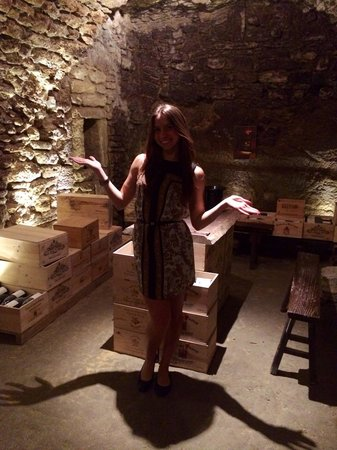 Les Caves Saint Charles: me, being a tourist