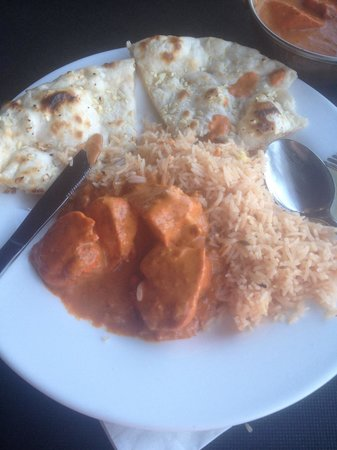 Nawaab: Weird tasting and bland... I did not eat this Tikka Masala!! Disappointed :(