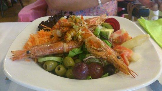 Antica Trattoria di Verona : Langoustini Salad