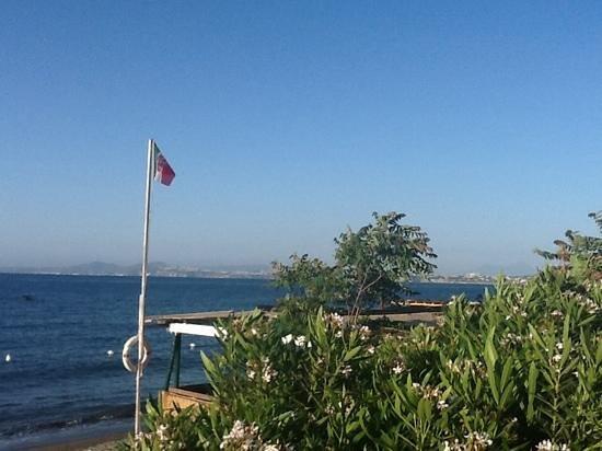 Hotel Rivamare: widok z tarasu