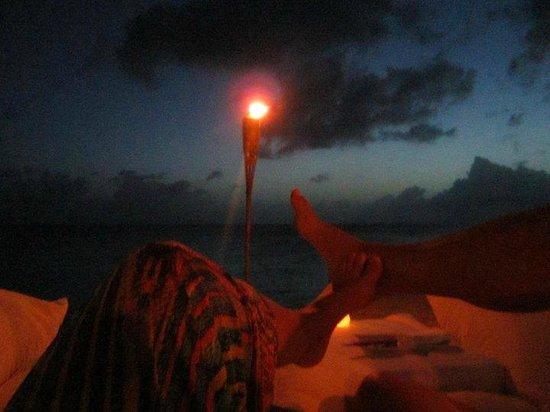 Belmond La Samanna : Private dinner on the beach
