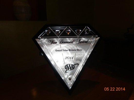 Grand Velas Riviera Maya: Logo 5 diamantes