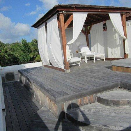 Belmond La Samanna : Private roof & hot tub