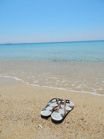 Agios Prokopios Hotel: Praia de águas transparentes de Agios Prokopios