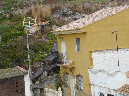 Hotel Ronda I: otra vista y como llovia tanto....