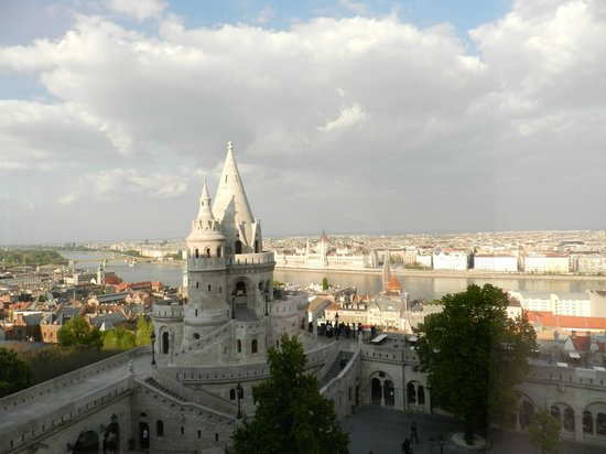 Hilton Budapest: Daytime View From Room