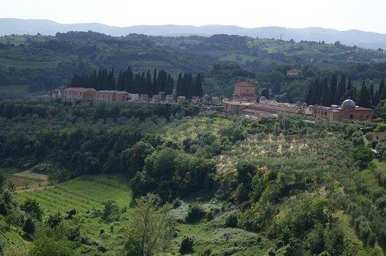 Il Chiostro del Carmine: Beautiful view from room
