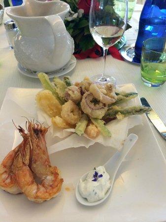 Hotel La Darsena: Lunch