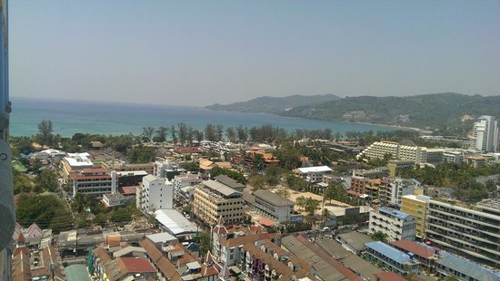 The Royal Paradise Hotel & Spa: Вид из номера на море