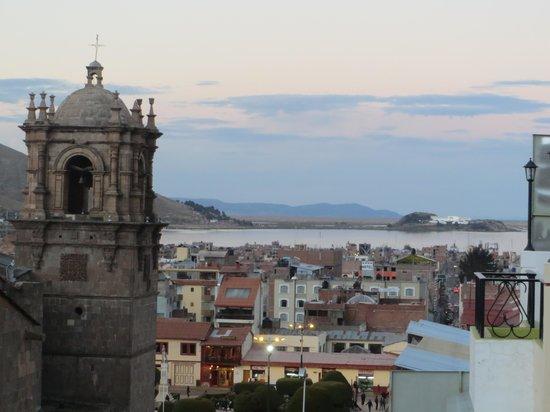 Hotel Conde de Lemos : view from terrace