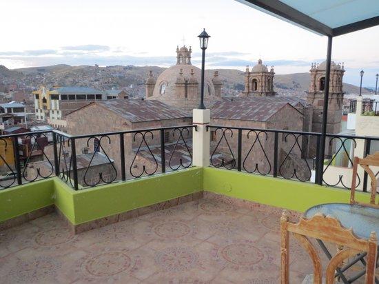 Hotel Conde de Lemos: terrace