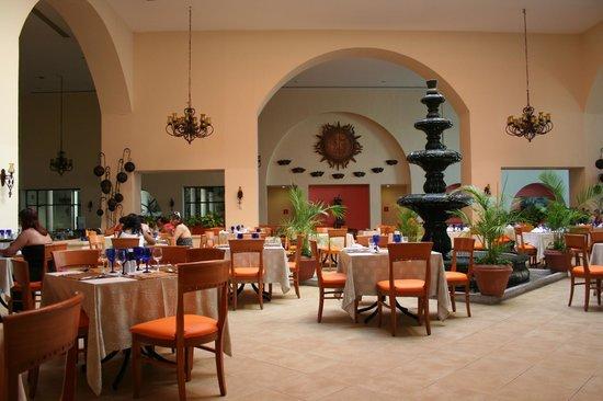Occidental at Xcaret Destination: Main dinning room
