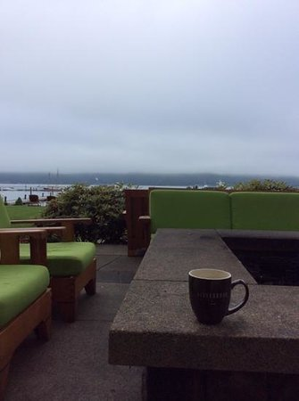 Alderbrook Resort & Spa: a cuppa a joe in the am!