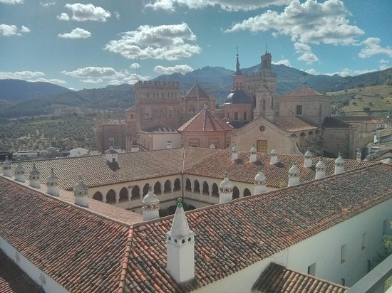 Parador de Guadalupe: Vistas