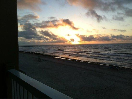 Holiday Inn Corpus Christi - N. Padre Island: Sunrise on Padre Island, Corpus Christi, TX