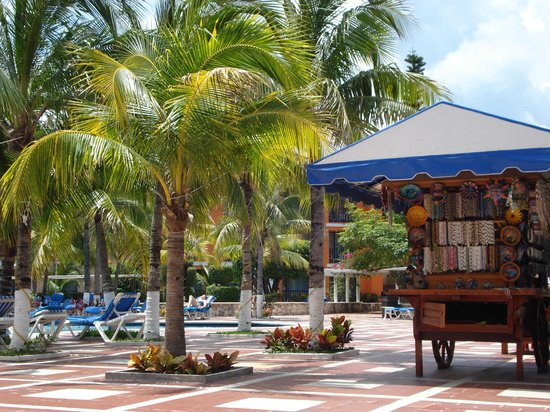 Hotel Cozumel and Resort: Poolside shop