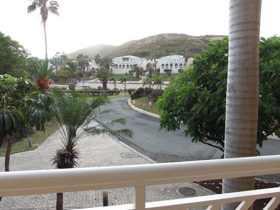 Divi Carina Bay All Inclusive Beach Resort: View of Villas from 2nd floor