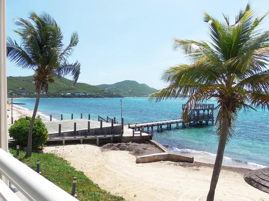 Divi Carina Bay All Inclusive Beach Resort: View from balcony of room 271
