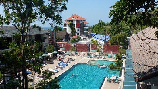 Anyavee Ban Ao Nang Resort : Udsigt fra vores værelse