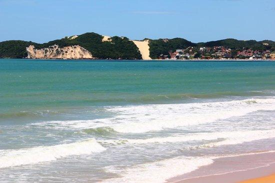 SERHS Natal Grand Hotel: vista da praia em fente ao hotel !
