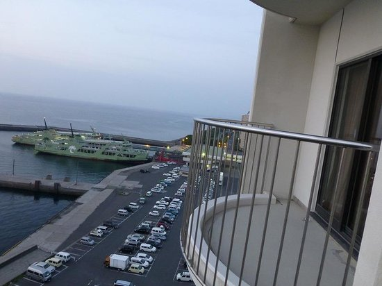 BEST WESTERN Rembrandt Hotel Kagoshima Resort : 客室からの眺め