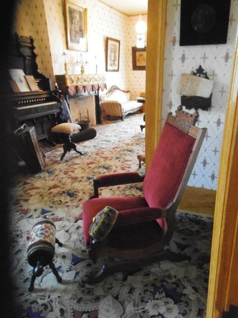 Whaley House Museum: view of study and parlor