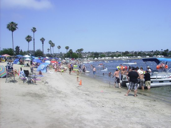 Campland on the Bay: At the Beach
