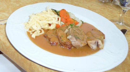 Restaurant Ringhotel Privathotel Post : Kalbshaxe