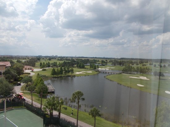 Rosen Shingle Creek : This was the view from my room.