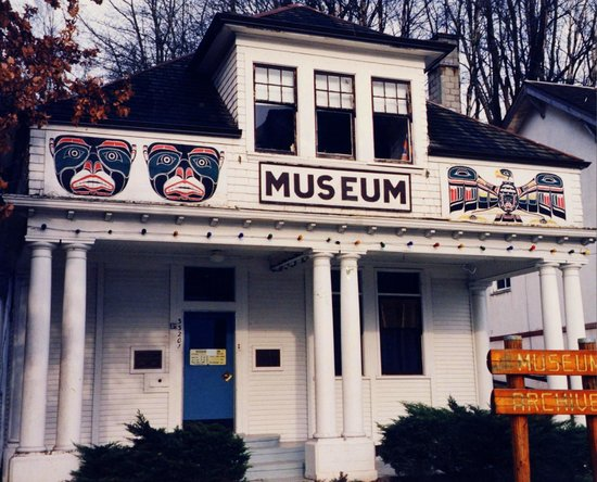 Mission Museum : After a new public library is built in 1971, the building opens as the Museum - 1972