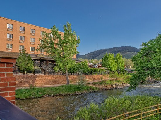 The Golden Hotel, an Ascend Collection hotel: Exterior with Clear Creek