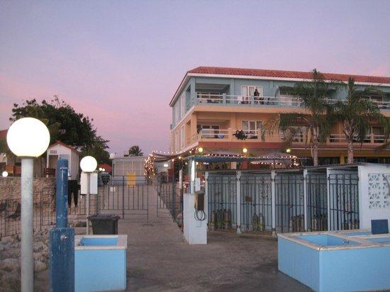 Den Laman Condominium: Our Apt. was second floor in light orange
