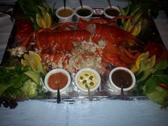 Blanca Restaurant: lobster:)