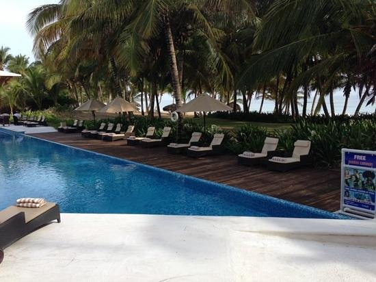 Sivory Punta Cana Boutique Hotel: view from breakfast